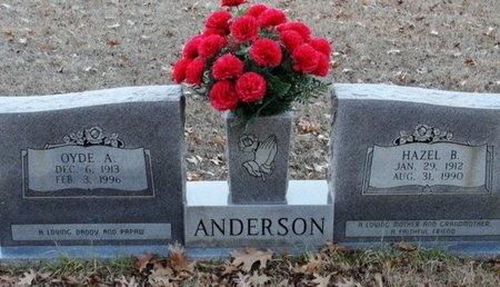 BROWN ANDERSON, HAZEL - Jackson County, Louisiana | HAZEL BROWN ANDERSON - Louisiana Gravestone Photos
