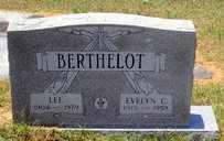 CORBETT BERTHELOT, EVELYN - Jackson County, Louisiana | EVELYN CORBETT BERTHELOT - Louisiana Gravestone Photos