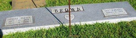 BROWN, ERNEST FLUITT - Jackson County, Louisiana   ERNEST FLUITT BROWN - Louisiana Gravestone Photos