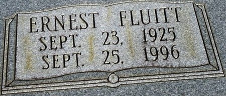 BROWN, ERNEST FLUITT (CLOSEUP) - Jackson County, Louisiana | ERNEST FLUITT (CLOSEUP) BROWN - Louisiana Gravestone Photos