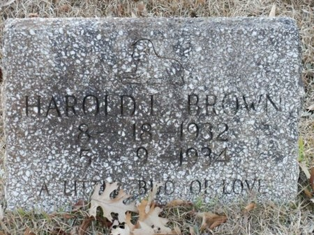BROWN, HAROLD L - Jackson County, Louisiana   HAROLD L BROWN - Louisiana Gravestone Photos