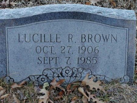 BROWN, ANNIE LUCILLE - Jackson County, Louisiana | ANNIE LUCILLE BROWN - Louisiana Gravestone Photos