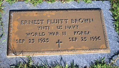 BROWN, ERNEST FLUITT (VETERAN 2 WARS) - Jackson County, Louisiana | ERNEST FLUITT (VETERAN 2 WARS) BROWN - Louisiana Gravestone Photos