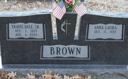 BROWN, TRAVIS DALE, SR - Jackson County, Louisiana | TRAVIS DALE, SR BROWN - Louisiana Gravestone Photos