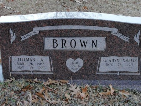 BROWN, GLADYS - Jackson County, Louisiana   GLADYS BROWN - Louisiana Gravestone Photos