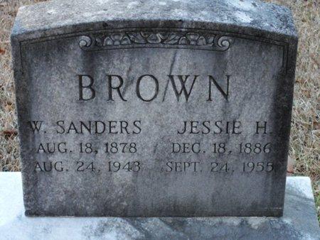 BROWN, WILLIAM SANDERS - Jackson County, Louisiana | WILLIAM SANDERS BROWN - Louisiana Gravestone Photos
