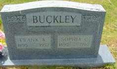 COMBS BUCKLEY, SOPHIA - Jackson County, Louisiana   SOPHIA COMBS BUCKLEY - Louisiana Gravestone Photos