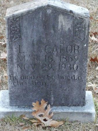 CALOR, LEWIS C - Jackson County, Louisiana | LEWIS C CALOR - Louisiana Gravestone Photos