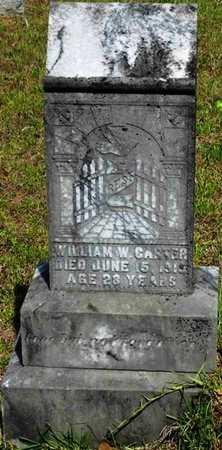 CARTER, WILLIAM W - Jackson County, Louisiana   WILLIAM W CARTER - Louisiana Gravestone Photos