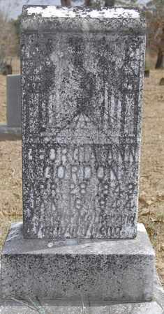 GIBSON GORDON, GEORGIA ANN - Jackson County, Louisiana | GEORGIA ANN GIBSON GORDON - Louisiana Gravestone Photos