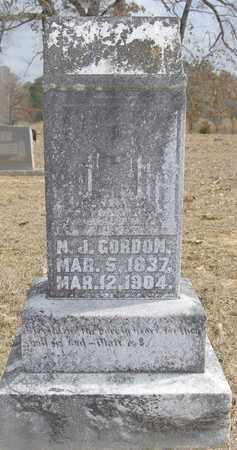 GORDON, NOAH J (VETERAN CSA) - Jackson County, Louisiana | NOAH J (VETERAN CSA) GORDON - Louisiana Gravestone Photos