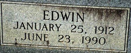 HAUGHTON, EDWIN (CLOSEUP) - Jackson County, Louisiana   EDWIN (CLOSEUP) HAUGHTON - Louisiana Gravestone Photos