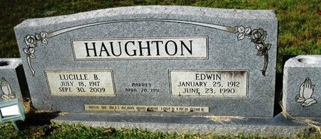 HAUGHTON, LUCILLE B - Jackson County, Louisiana | LUCILLE B HAUGHTON - Louisiana Gravestone Photos