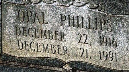 PHILLIPS HIGHTOWER, OPAL (CLOSEUP) - Jackson County, Louisiana   OPAL (CLOSEUP) PHILLIPS HIGHTOWER - Louisiana Gravestone Photos