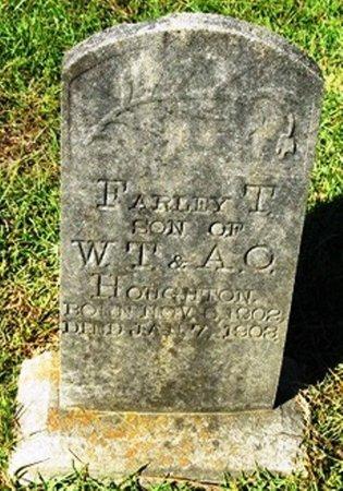 HOUGHTON, FARLEY T - Jackson County, Louisiana | FARLEY T HOUGHTON - Louisiana Gravestone Photos
