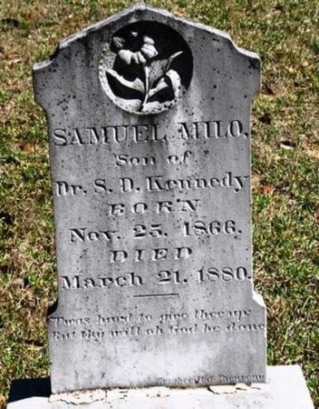 KENNEDY, SAMUEL MILO - Jackson County, Louisiana | SAMUEL MILO KENNEDY - Louisiana Gravestone Photos