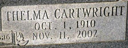 CARTWRIGHT KENNEDY, THELMA (CLOSEUP) - Jackson County, Louisiana | THELMA (CLOSEUP) CARTWRIGHT KENNEDY - Louisiana Gravestone Photos