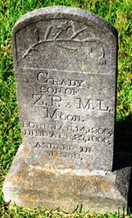 MOON, GRADY - Jackson County, Louisiana   GRADY MOON - Louisiana Gravestone Photos
