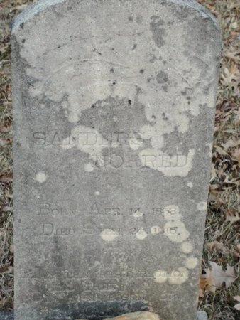 NORRED, SANDERS - Jackson County, Louisiana | SANDERS NORRED - Louisiana Gravestone Photos