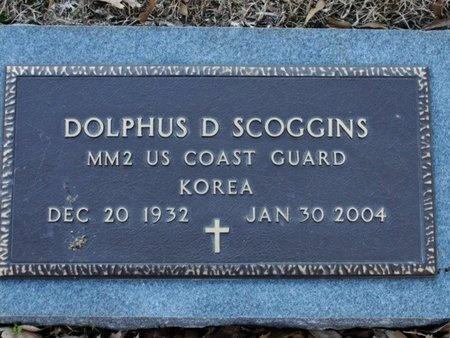 SCOGGINS, DOLPHUS D  (VETERAN KOR) - Jackson County, Louisiana | DOLPHUS D  (VETERAN KOR) SCOGGINS - Louisiana Gravestone Photos