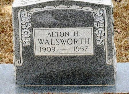 WALSWORTH, ALTON H - Jackson County, Louisiana | ALTON H WALSWORTH - Louisiana Gravestone Photos