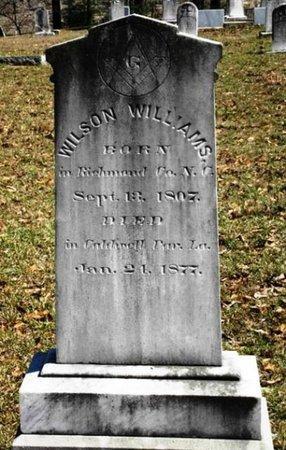 WILLIAMS, WILSON - Jackson County, Louisiana   WILSON WILLIAMS - Louisiana Gravestone Photos