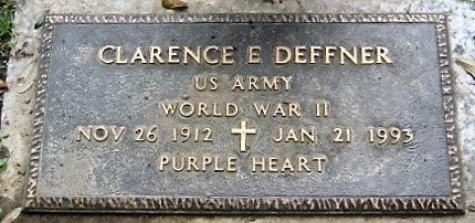 DEFFNER, CLARENCE E  (VETERAN WWII) - Jefferson County, Louisiana   CLARENCE E  (VETERAN WWII) DEFFNER - Louisiana Gravestone Photos