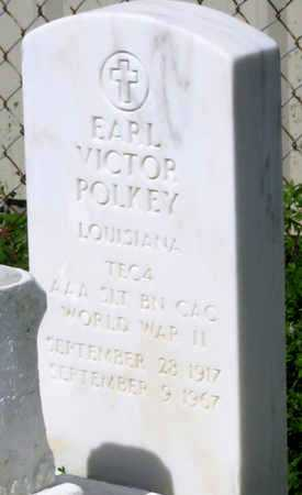 POLKEY, EARL VICTOR (VETERAN WWII) - Jefferson County, Louisiana | EARL VICTOR (VETERAN WWII) POLKEY - Louisiana Gravestone Photos