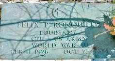 RONQUILLE, FELIX P (VETERAN WWII) - Jefferson County, Louisiana | FELIX P (VETERAN WWII) RONQUILLE - Louisiana Gravestone Photos