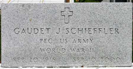 SCHIEFFLER, GAUDET J (VETERAN WWII) - Jefferson County, Louisiana | GAUDET J (VETERAN WWII) SCHIEFFLER - Louisiana Gravestone Photos