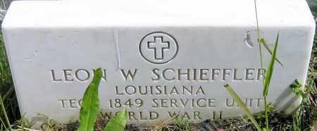 SCHIEFFLER, LEON W (VETERAN WWII) - Jefferson County, Louisiana | LEON W (VETERAN WWII) SCHIEFFLER - Louisiana Gravestone Photos