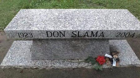 SLAMA, DON CHARLES - Jefferson County, Louisiana   DON CHARLES SLAMA - Louisiana Gravestone Photos