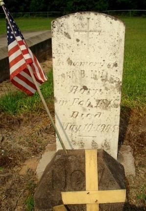 MILLER, JOHN (JEAN) BAPTISTE - Jefferson Davis County, Louisiana | JOHN (JEAN) BAPTISTE MILLER - Louisiana Gravestone Photos