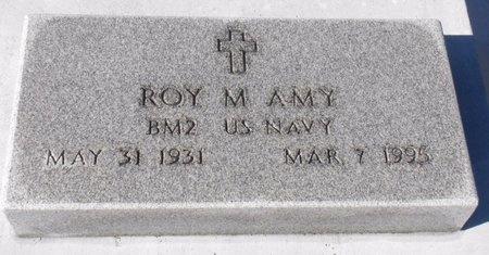 AMY, ROY MARTINEZ (VETERAN KOR) - Jefferson Davis County, Louisiana   ROY MARTINEZ (VETERAN KOR) AMY - Louisiana Gravestone Photos