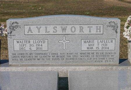 LAFLEUR AYLSWORTH, MARIE - Jefferson Davis County, Louisiana | MARIE LAFLEUR AYLSWORTH - Louisiana Gravestone Photos