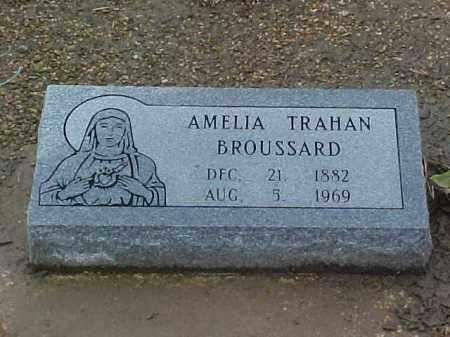 BROUSSARD, AMELIA - Jefferson Davis County, Louisiana   AMELIA BROUSSARD - Louisiana Gravestone Photos