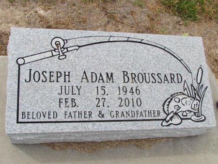 BROUSSARD, JOSEPH ADAM - Jefferson Davis County, Louisiana | JOSEPH ADAM BROUSSARD - Louisiana Gravestone Photos