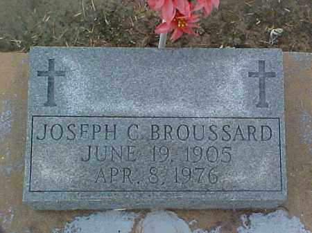 BROUSSARD, JOSEPH C - Jefferson Davis County, Louisiana | JOSEPH C BROUSSARD - Louisiana Gravestone Photos
