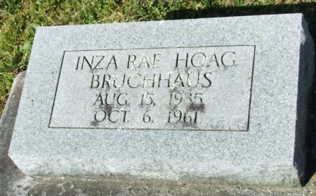 BRUCHHAUS, INZA RAE - Jefferson Davis County, Louisiana | INZA RAE BRUCHHAUS - Louisiana Gravestone Photos