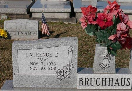 BRUCHHAUS, LAURENCE DARRELL - Jefferson Davis County, Louisiana   LAURENCE DARRELL BRUCHHAUS - Louisiana Gravestone Photos
