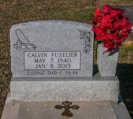 FUSELIER, CALVIN LAFLEUR - Jefferson Davis County, Louisiana   CALVIN LAFLEUR FUSELIER - Louisiana Gravestone Photos