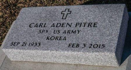 PITRE, CARL ADEN  (VETERAN KOR) - Jefferson Davis County, Louisiana   CARL ADEN  (VETERAN KOR) PITRE - Louisiana Gravestone Photos