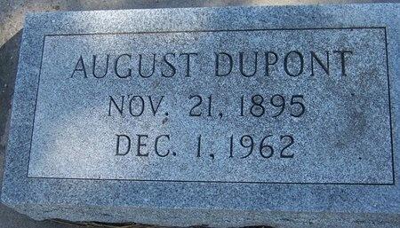 DUPONT, AUGUST - Jefferson Davis County, Louisiana   AUGUST DUPONT - Louisiana Gravestone Photos