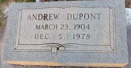 DUPONT, ANDREW - Jefferson Davis County, Louisiana   ANDREW DUPONT - Louisiana Gravestone Photos