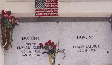 "DUPONT, EDWARD JOSEPH ""SNAPPER"" - Jefferson Davis County, Louisiana | EDWARD JOSEPH ""SNAPPER"" DUPONT - Louisiana Gravestone Photos"