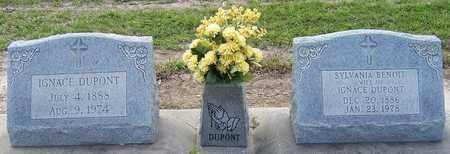 DUPONT, IGNACE - Jefferson Davis County, Louisiana | IGNACE DUPONT - Louisiana Gravestone Photos