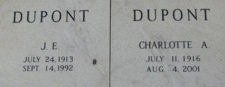"DUPONT, JOSEPH ELIAS ""J E"" , JR - Jefferson Davis County, Louisiana | JOSEPH ELIAS ""J E"" , JR DUPONT - Louisiana Gravestone Photos"