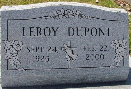 DUPONT, LEROY - Jefferson Davis County, Louisiana | LEROY DUPONT - Louisiana Gravestone Photos
