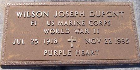 DUPONT, WILSON JOSEPH (VETERAN WWII) - Jefferson Davis County, Louisiana | WILSON JOSEPH (VETERAN WWII) DUPONT - Louisiana Gravestone Photos