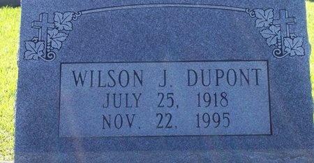 DUPONT, WILSON JOSEPH - Jefferson Davis County, Louisiana   WILSON JOSEPH DUPONT - Louisiana Gravestone Photos